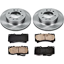 35OEREP30 SureStop OE Replacement Front Brake Disc and Pad Kit, 2-Wheel Set