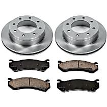 36OEREP20 SureStop OE Replacement Rear Brake Disc and Pad Kit, 2-Wheel Set