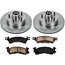 36OEREP29 SureStop OE Replacement Front Brake Disc and Pad Kit, 2-Wheel Set