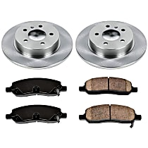 36OEREP65 SureStop OE Replacement Front Brake Disc and Pad Kit, 2-Wheel Set