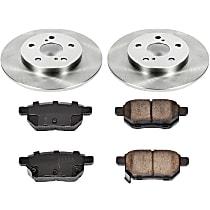 37OEREP47 SureStop OE Replacement Rear Brake Disc and Pad Kit, 2-Wheel Set