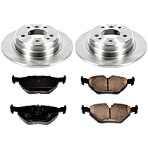 3OEREP39 SureStop OE Replacement Rear Brake Disc and Pad Kit, 2-Wheel Set
