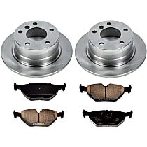 3OEREP63 SureStop OE Replacement Rear Brake Disc and Pad Kit, 2-Wheel Set