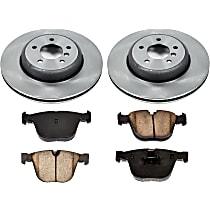 40OEREP29 SureStop OE Replacement Rear Brake Disc and Pad Kit, 2-Wheel Set
