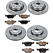 41OEREP28 SureStop OE Replacement Front And Rear Brake Disc and Pad Kit, 4-Wheel Set