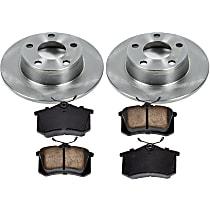 45OEREP48 SureStop OE Replacement Rear Brake Disc and Pad Kit, 2-Wheel Set