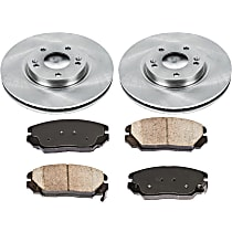 47OEREP46 SureStop OE Replacement Front Brake Disc and Pad Kit, 2-Wheel Set