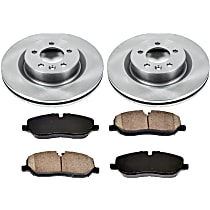 47OEREP60 SureStop OE Replacement Front Brake Disc and Pad Kit, 2-Wheel Set