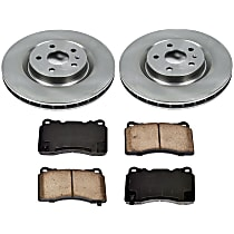 48OEREP29 SureStop OE Replacement Front Brake Disc and Pad Kit, 2-Wheel Set