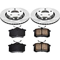 48OEREP48 SureStop OE Replacement Rear Brake Disc and Pad Kit, 2-Wheel Set
