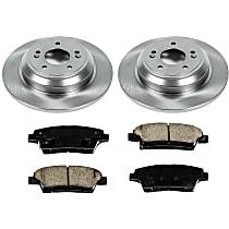 48OEREP58 SureStop OE Replacement Rear Brake Disc and Pad Kit, 2-Wheel Set