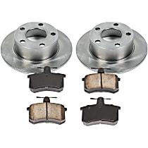 4OEREP51 SureStop OE Replacement Rear Brake Disc and Pad Kit, 2-Wheel Set