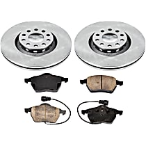 4OEREP63 SureStop OE Replacement Front Brake Disc and Pad Kit, 2-Wheel Set