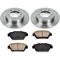 4OEREP68 SureStop OE Replacement Rear Brake Disc and Pad Kit, 2-Wheel Set