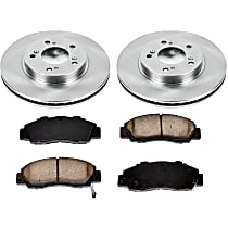 4OEREP70 SureStop OE Replacement Front Brake Disc and Pad Kit, 2-Wheel Set