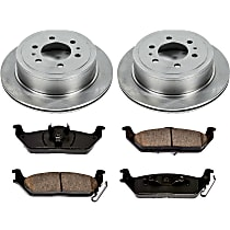 50OEREP19 SureStop OE Replacement Rear Brake Disc and Pad Kit, 2-Wheel Set