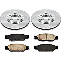 51OEREP13 SureStop OE Replacement Front Brake Disc and Pad Kit, 2-Wheel Set