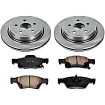 53OEREP59 SureStop OE Replacement Rear Brake Disc and Pad Kit, 2-Wheel Set
