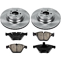 54OEREP20 SureStop OE Replacement Front Brake Disc and Pad Kit, 2-Wheel Set