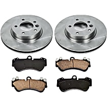 54OEREP45 SureStop OE Replacement Front Brake Disc and Pad Kit, 2-Wheel Set