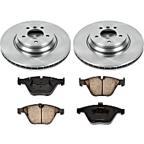 55OEREP60 SureStop OE Replacement Front Brake Disc and Pad Kit, 2-Wheel Set