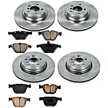 56OEREP20 SureStop OE Replacement Front And Rear Brake Disc and Pad Kit, 4-Wheel Set