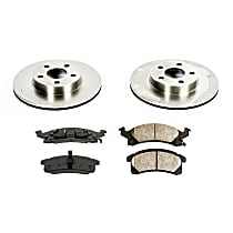 56OEREP31 SureStop OE Replacement Front Brake Disc and Pad Kit, 2-Wheel Set