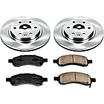 57OEREP46 SureStop OE Replacement Front Brake Disc and Pad Kit, 2-Wheel Set