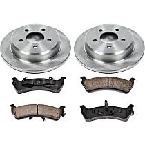58OEREP18 SureStop OE Replacement Rear Brake Disc and Pad Kit, 2-Wheel Set