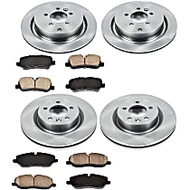 59OEREP40 SureStop OE Replacement Front And Rear Brake Disc and Pad Kit, 4-Wheel Set