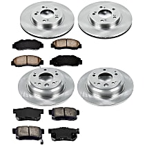 5OEREP70 SureStop OE Replacement Front And Rear Brake Disc and Pad Kit, 4-Wheel Set