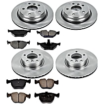 5OEREP94 SureStop OE Replacement Front And Rear Brake Disc and Pad Kit, 4-Wheel Set