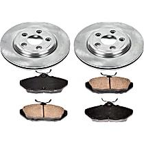 60OEREP13 SureStop OE Replacement Rear Brake Disc and Pad Kit, 2-Wheel Set