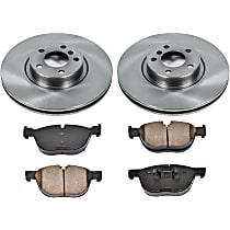 61OEREP60 SureStop OE Replacement Front Brake Disc and Pad Kit, 2-Wheel Set