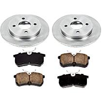 63OEREP13 SureStop OE Replacement Rear Brake Disc and Pad Kit, 2-Wheel Set