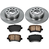 66OEREP56 SureStop OE Replacement Rear Brake Disc and Pad Kit, 2-Wheel Set