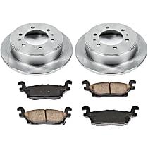 67OEREP30 SureStop OE Replacement Rear Brake Disc and Pad Kit, 2-Wheel Set