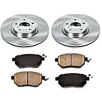 6OEREP11 SureStop OE Replacement Front Brake Disc and Pad Kit, 2-Wheel Set