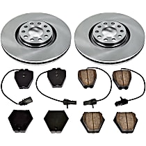6OEREP88 SureStop OE Replacement Front Brake Disc and Pad Kit, 2-Wheel Set