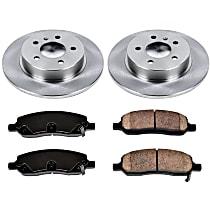 75OEREP59 SureStop OE Replacement Rear Brake Disc and Pad Kit, 2-Wheel Set