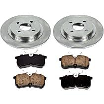 76OEREP13 SureStop OE Replacement Rear Brake Disc and Pad Kit, 2-Wheel Set