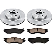 78OEREP21 SureStop OE Replacement Front Brake Disc and Pad Kit, 2-Wheel Set