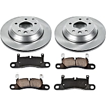 79OEREP59 SureStop OE Replacement Rear Brake Disc and Pad Kit, 2-Wheel Set