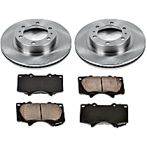 7OEREP13 SureStop OE Replacement Front Brake Disc and Pad Kit, 2-Wheel Set