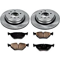 7OEREP55 SureStop OE Replacement Rear Brake Disc and Pad Kit, 2-Wheel Set