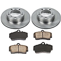 7OEREP85 SureStop OE Replacement Rear Brake Disc and Pad Kit, 2-Wheel Set