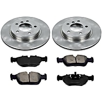 7OEREP86 SureStop OE Replacement Front Brake Disc and Pad Kit, 2-Wheel Set