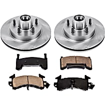 82OEREP14 SureStop OE Replacement Front Brake Disc and Pad Kit, 2-Wheel Set