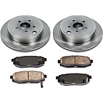 83OEREP58 SureStop OE Replacement Rear Brake Disc and Pad Kit, 2-Wheel Set