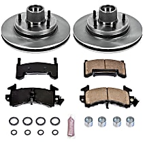 85OEREP14 SureStop OE Replacement Front Brake Disc and Pad Kit, 2-Wheel Set